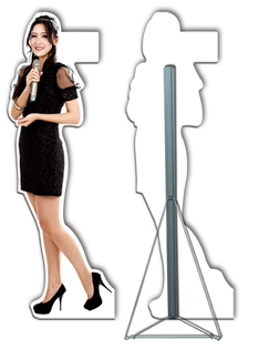 Human Standee Cut Out Display Display System Supplier