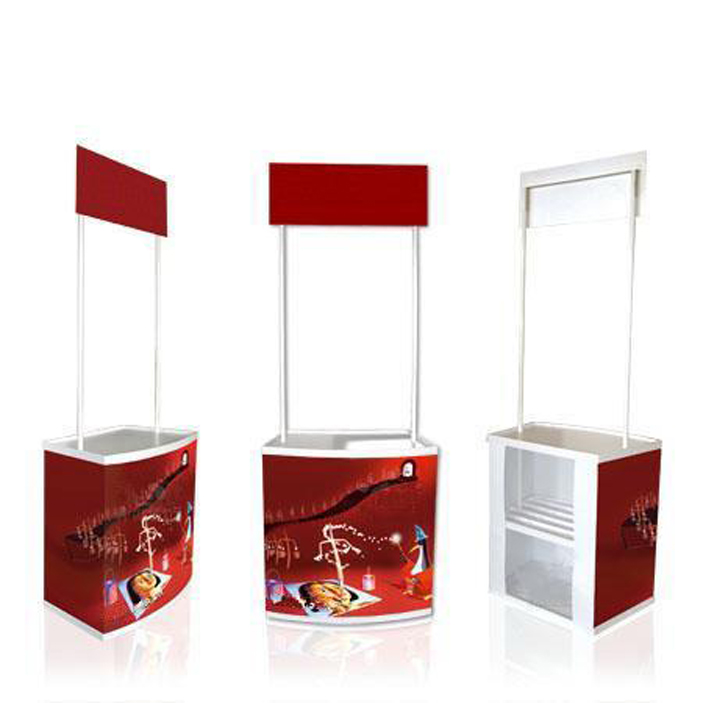 Table Booth / Counter - DISPLAY SYSTEM SUPPLIER . EXHIBITION STAND