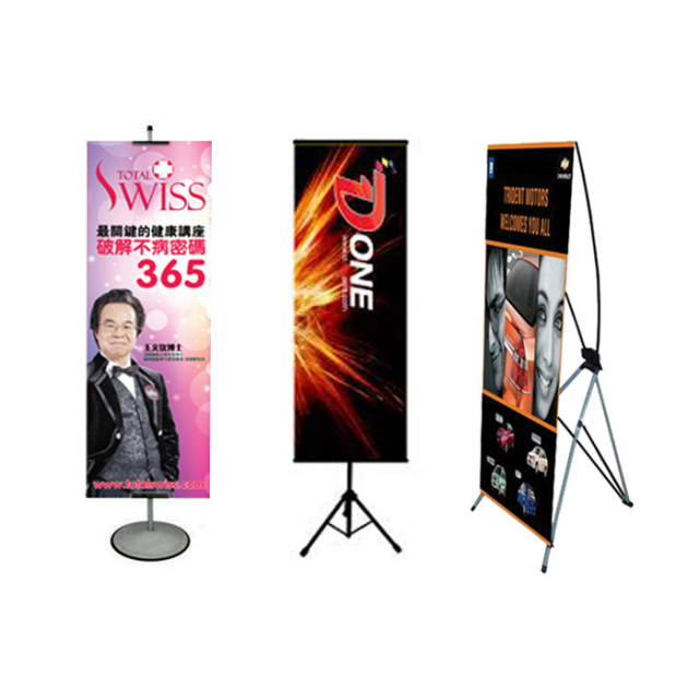 Banner Bunting Printing 2 X 6 Feet Tarpaulin T Stand