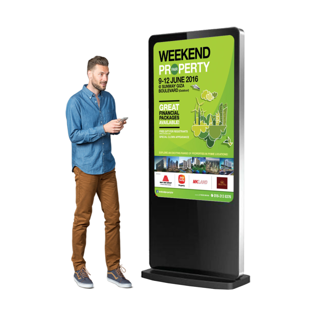 Digital Signage Advertising Screen Led Tv Stand And Touch